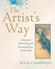 The Artist's Way: A Course  Creative Self by Julia Cameron Book   New Free Post