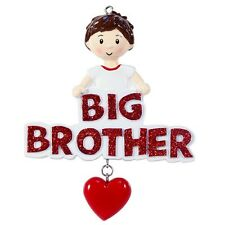 Big Brother Personalized Christmas Tree Ornament X-mass NEW
