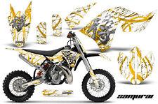 KTM SX65 SX 65 2009-2015 GRAPHICS KIT CREATORX DECALS STICKERS SAMURAI YWNP