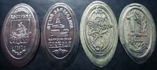 "Russia - elongated coins of the museum-reserve ""Kostromsloboda Sloboda"""