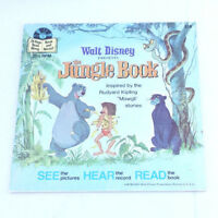 The Jungle Book 1977 Illustrated Children's Book Walt Disney