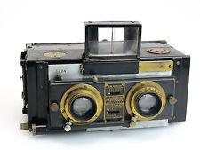 Unis France Monobloc stereo camera + Tessar 4,5/85 E Krauss lens + Zubehör so096