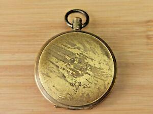 Vintage Decorative Gold Filled (10 year) Full Hunter Pocket Watch Case