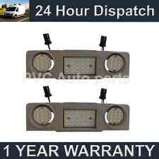 2X PER VW GOLF MK5 6 GOLF PLUS 48 LED BIANCO ANTERIORE CORTESIA INTERNO FARI