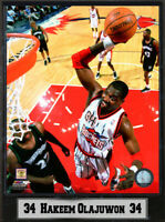Encore Select 9x12 Plaque - Hakeem Olajuwon Houston Rockets