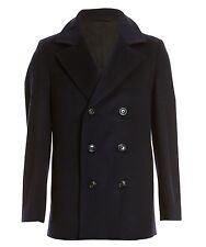 NAVY 100% Wool Coats & Jackets for Men