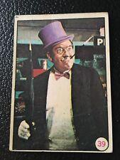 1966 Batman Argentina Bat Risas #39 The Penguin Color Photos Rare Argentine Card