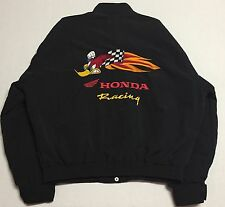 Honda Racing Jacket Large Woody Woodpecker Promo 2001 Made in the USA Motowear