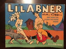 Li'l Abner 1946 Dailies Volume 12 Al Capp Wolf Gal & Lena the Hyena~B. Wolverton