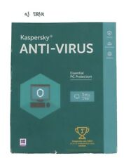 Sealed Kaspersky Anti-virus For 3 Devices, Product Key Card