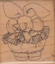 "teeny tooti 928 mostly animals Wood Mounted Rubber Stamp 2 1/2 x 2""  Free Ship"