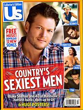 US Magazine Collector's Edition: Country's Sexiest Men - Blake Shelton FREE SHIP