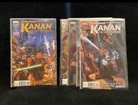 Star Wars Kanan The Last Padawan 1-5 Lot (NM & First Print)