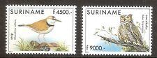 Suriname Zbl Nr 1116/1117   Postfris.
