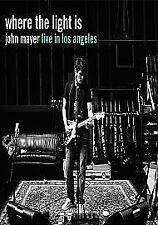 John Mayer - Where The Light Is (DVD, 2008) NTSC Region 0 **FREE UK DELIVERY**