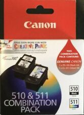 GENUINE Canon PG510 / PG-510 and CL511 / CL-511 TWIN Combination Ink Pack
