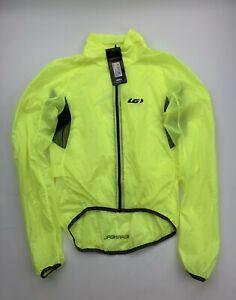 Louis Garneau X-Lite Cycling Jacket Yellow Size Small New