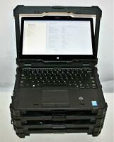 "4x Dell Latitude 12"" 7204 Rugged Extreme Intel i7 4650u 1.7GHz 4GB Touchscreen"