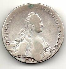 RUBLO 1766 CATERINA II RUSSIA