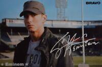 EMINEM - Autogrammkarte - Autograph Autogramm Fan Sammlung Clippings NEU
