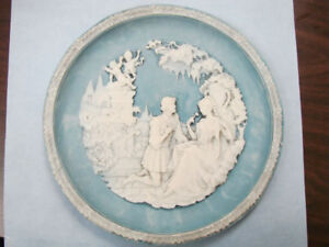 1987 Incolay Plate 1st Love Sonnets of Shakespeare Series