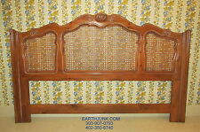 Ethan Allen King Chateau Normandy Cane Headboard 17 5601 Country French Style