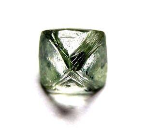 1.45 Karat Einzigartig Gemmy Uncut Raw Grobem Diamant aus Russland
