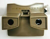 Vintage View Master Brown GAF Corporation Mid-Century Collectible Toy Pre-Owned
