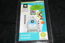 Serenade Cricut cartridge with booklet overlay NO BOX NIP
