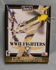 Jane's WWII Fighters Classic PC CD ROM Game 1998 Windows 95 or 98 Complete