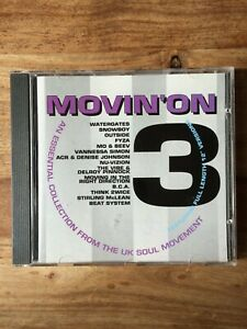 Movin' On  3 - Various Artists (CD 1993) Rumour Records