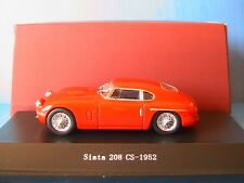 SIATA 208 CS 1952 RED STARLINE 1/43 ROSSO ROUGE ROT ITALIA VEHICULE MINIATURE