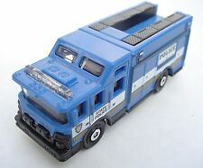 BLUE Tactical Operations Command. Matchbox Police Squad. CLM03. Loose, fresh.