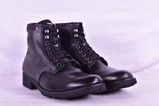 Men's Calvin Klein Trevor Burnish Buff Combat Boots, Black, 8M