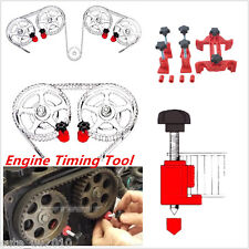 5 X Engine Timing Sprocket Gear Locking Tool Dual Cam Camshaft Lock Holder Set