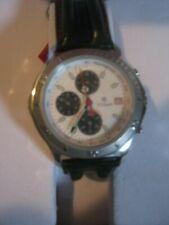 TITAN men's wristwatch in original gift box, white dial chronograph(OS 10) watch