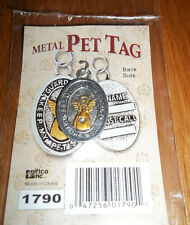 """New! """"Guardian Angel Keep my Pet Safe"""" Metal Engravable Pet Tag~Ready for Giving"""