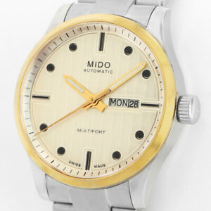 MIDO MULTIFORT AUTOMATIK TOP ETA 2836-2 DAY&DATE KALENDER SAPPHIRE UHR M005.430