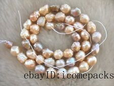 "5strands freshwater pearl multicolor baroque 15"" beads wholesale nature discount"