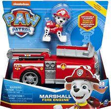 Paw Patrol Jeu enfant Véhicule + Figurine Marcus La Pat' Patrouille Cadeau Noel