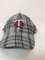 Minnesota Twins Plaid Baseball Cap 2012 Dairy Queen Promotion Never Worn