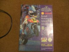1991 Official Programme ACU Shell Supercup Motorcycle Championship Cadwell Park