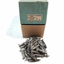 """New #6 Pinch On Lead Sinkers - 3/4 oz. Pack of 36 - """"IDEAL Brand"""" - USA Made"""