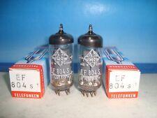 Ef804s Telefunken # <> # matched pair # nos NIB # same código (631)