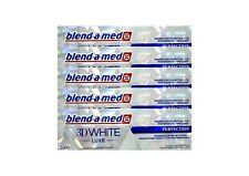 5x BLEND A MED 3D WHITE LUXE PERFEKTION 75ml Zahnschmelzschonende Zahncreme
