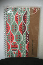 Bookjigs Canvas Lay Flat Notebook Journal FAMILY TREE 200 Lined Pgs 5x8 NEW