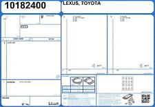 Full Engine Rebuild Gasket Set LEXUS GS 250 V6 24V 2.5 215 4GR-FSE (1/2012-)