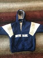 Vintage Notre Dame Jacket Coat Men's Medium M STARTER Puffer Hood Fighting Irish