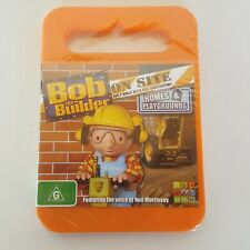 BOB THE BUILDER On Site - Homes & Playgrounds DVD 2009 Pal 4 ABC Kids New Sealed