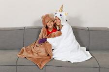 Kuscheldecke - Kinderdecke  aus weichem Fleece für Kinder 100 x 130 cm